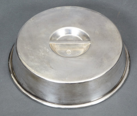 Large Silver Plated Serving Dish Cover only from the Platterhof