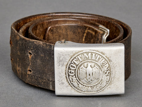 German Army Belt and Buckle Set