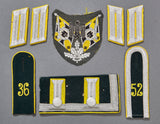 WWII German Army Signals Veteran Cloth Lot
