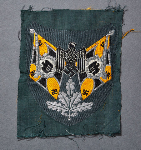 WWII German Army Cavalry Standard Bearer Sleeve Patch