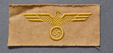 WWII German Navy/Coastal Artillery Tropical Breast Eagle