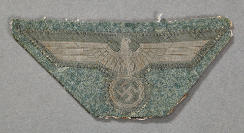 WWII German Army Cut Off Breast Eagle