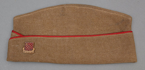 WWII U.S. 349th Field Artillery Regiment (155mm) Overseas Cap
