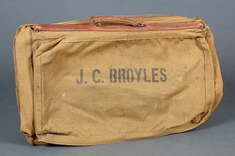 WWII U.S. Army or Army Air Corps Overseas Clothing Bag