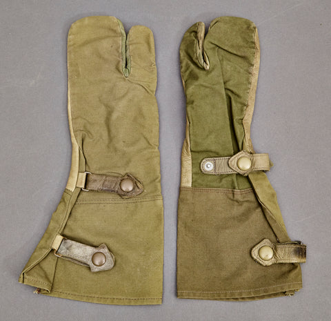 WWII German Three Finger Gloves