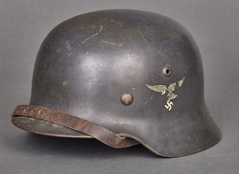 Double Decal Droop Tail Model 1935 German Luftwaffe Helmet