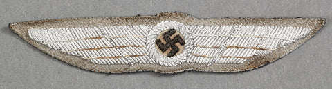 WWII German SA Pilot's Award in Cloth