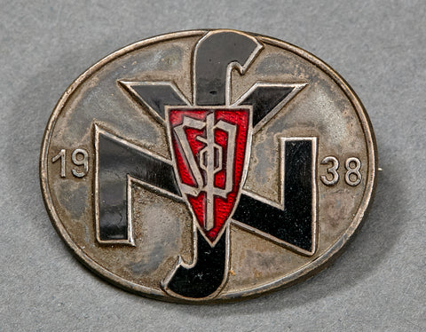 SdP (Sudetenland) National Socialist People's Welfare (NSV) Leader's Badge 1938