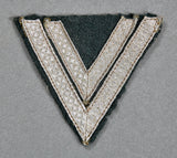 German Army WWII Sleeve Chevron for Senior Corporal