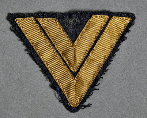 German WWII Kriegsmarine Sleeve Chevron for Senior Corporal