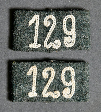 WWII German Army Slip-Ons for Shoulder Boards