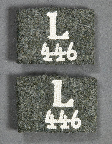 WWII German Army Slip-Ons for Shoulder Board