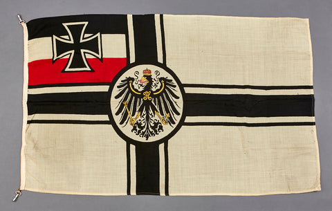 WWI Vintage German Battle Flag