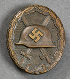 WWII German Silver Wound Badge, Maker Marked L/13