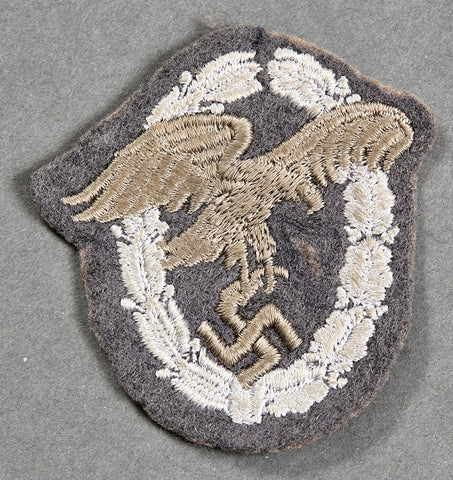 WWII German Observer Badge in Cloth
