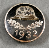 "German ""Der Stahlhelm"" 1932 Membership Badge"