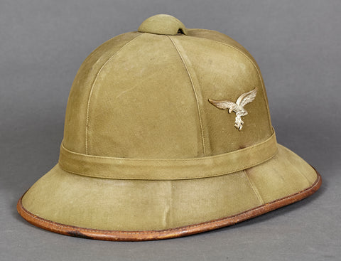 WWII German Luftwaffe Pith Helmet