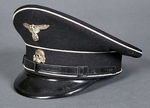 "WWII German Allgemeine SS ""Other Ranks"" Visor Cap"