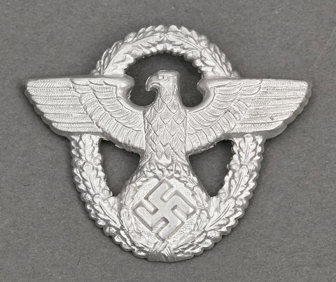 German Police Visor Cap Eagle