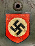 WWII German Model 1935 SS Double Decal Helmet