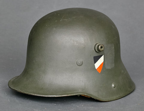WWI Model 1916 Reichswehr Helmet, Named