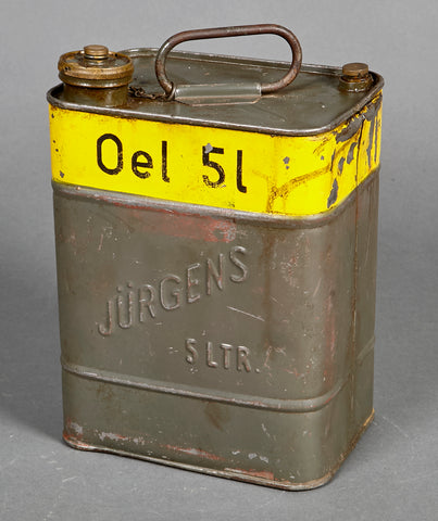 WWII German Oil Canister