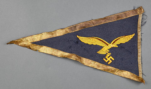 Half Luftwaffe General's Fender Pennant
