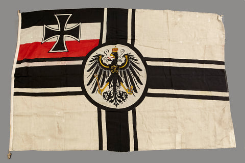 Incredible Documented WWI Battle Flag Removed From The German Battleship SMS Moltke