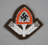 WWII German RAD Other Ranks Cap Insignia