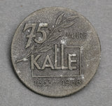 """75 Jahre Kalle"" (""75 Years of Kalle"") –Metal; Solid Back"