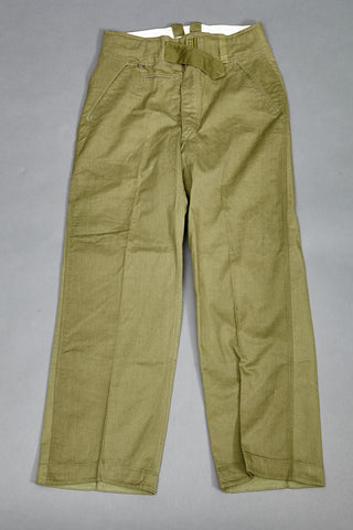 WWII German Army DAK Tropical Combat Trousers