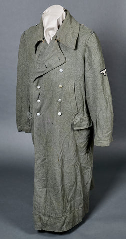 WWII German Waffen SS Winter Great Coat