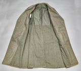 WWII Marine Corps Long Wool Overcoat
