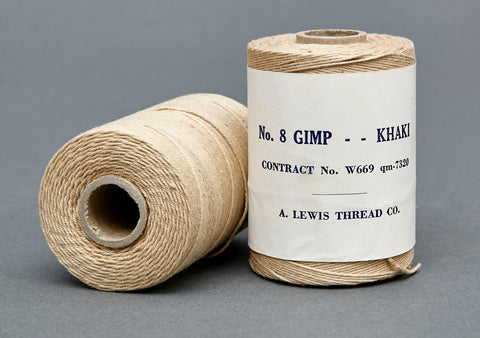 WWII US Army Contract Khaki Thread Spools