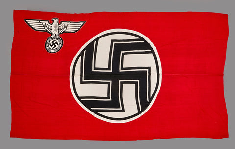 WWII NAZI State Service Flag