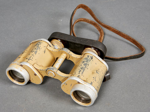 WWII German Tropical 6 x 30 Binoculars W/Accessories