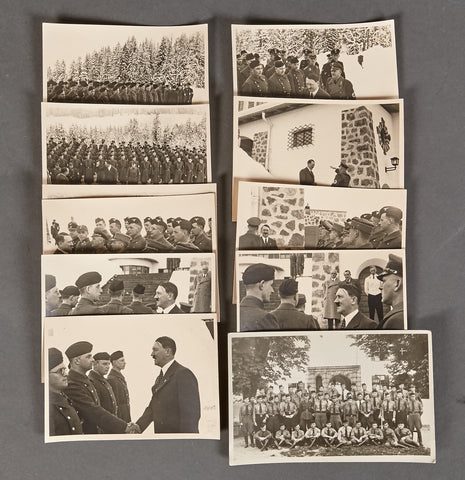 Adolf Hitler Berghof Picture Lot, many by Heinrich Hoffmann