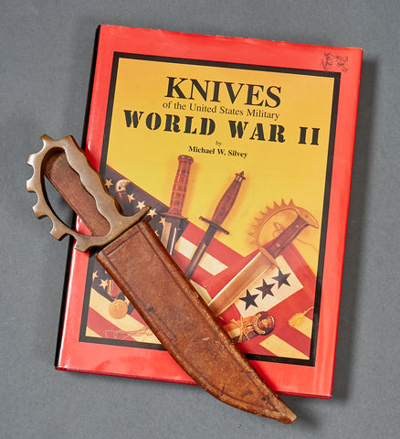 Extremely Rare US WWII Commando/Ranger Knuckle Combat Knife