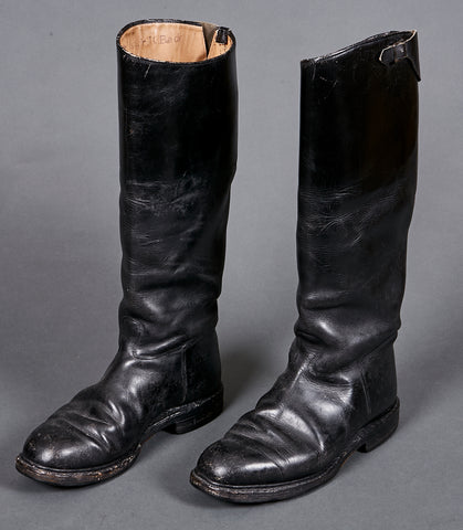 WWII German SS Officer's Dress Boots