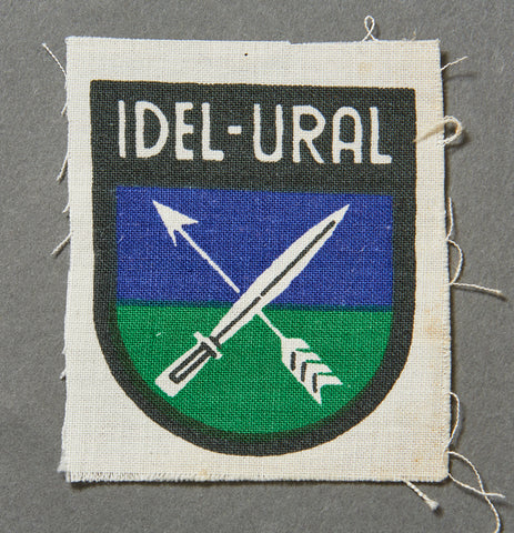 WWII German Idel-Ural Volunteer Sleeve Shield