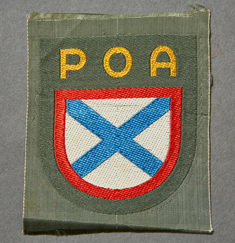 WWII German Sleeve Shield for Russian Liberation Army