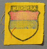 WWII German Armenian Volunteer Sleeve Shield