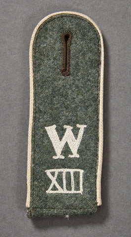 WWII German Army Recruiter Shoulder Board