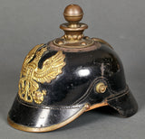 Early Prussian EM Artillery Man's Helmet