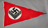 WWII German Pennant for RAD Female Personnel