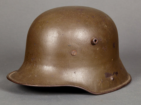Clean Model 1916 WWI German Combat Helmet