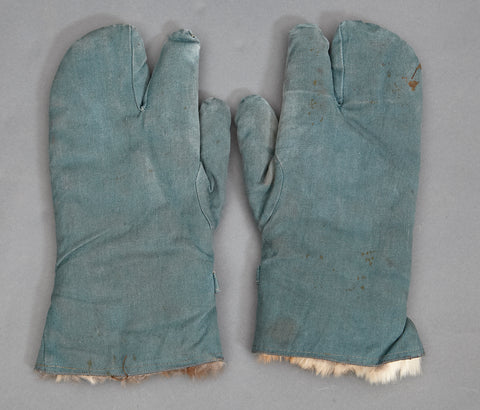German Police Fur Gloves