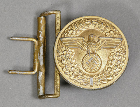 WWII German Political Leader's Buckle