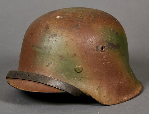 WWII German Model 1942 Army Camouflage Helmet