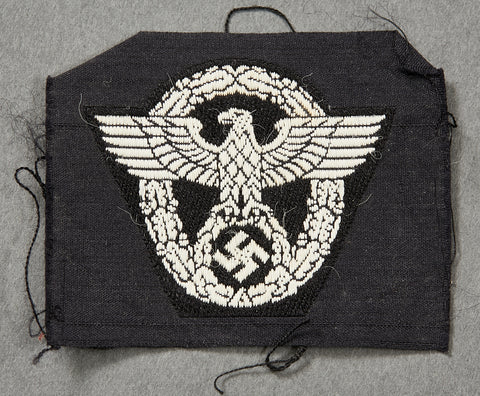 German WWII Police Cap Insignia